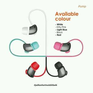 (earphone) JETE pump
