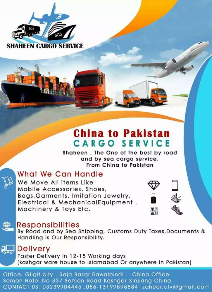 Cargo Services - Movers & Packers in Pakistan | OLX com pk