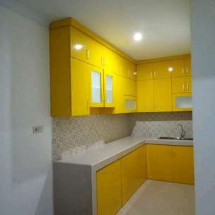 kitchen set warna warni