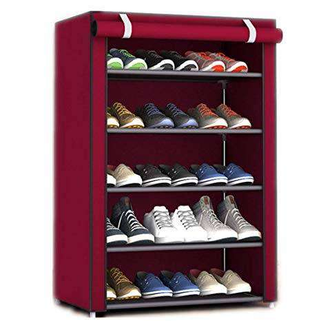 Image result for 5 shelf shoes rack