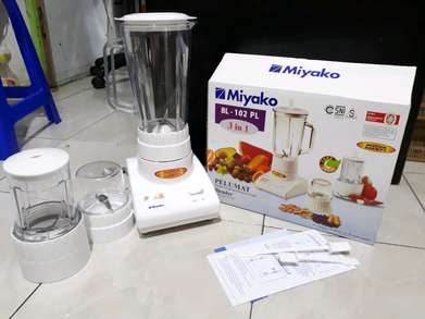 deliv blender bl102pl miyako mika with dry and wet mill 1speed