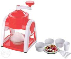 Gola Maker/Slush Maker Machine With Free Cups, Sticks, Spoon & Plate