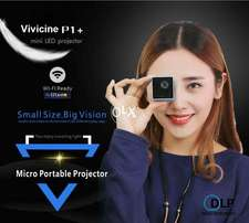Vivicine P1+WIFI Wireless Pocket LED Pico Smart Mini Projector