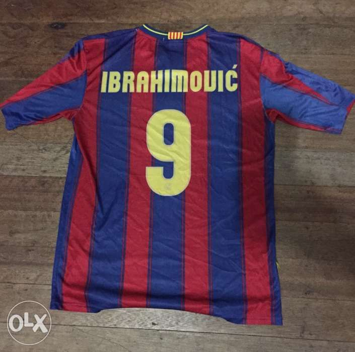 on sale c0bf5 a6d49 Ibrahimovic 9 FCB jersey in Quezon City, Metro Manila (NCR ...