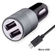 charger mobil 3.a1 2usb