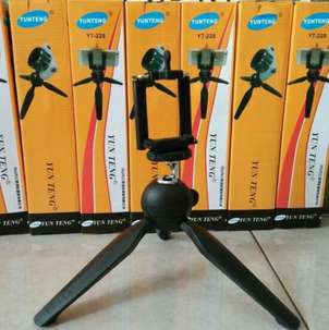 Mini Tripod + Holder U untuk smartphone dan camera digital