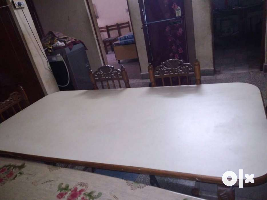 Pure Sangwan wooden dining table only 02 yrs old Jaipur  : images1000x700inslot3filenamevl7ta5xrhssi2 IN from www.olx.in size 934 x 700 jpeg 36kB