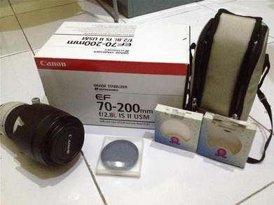 Canon 70-200mm F.2.8 IS II USM