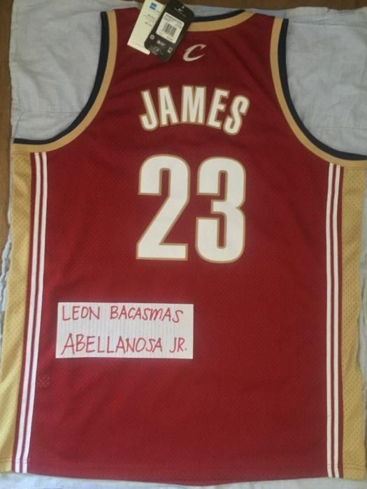 low priced c1b5f 7ebbc Lebron James 23 CLEVELAND Rookie Road Nike Swingman Jersey ...