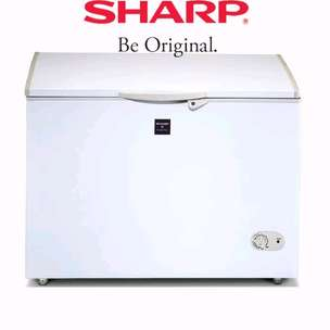 New Kulkas Freezer SHARP Low Watt 300liter