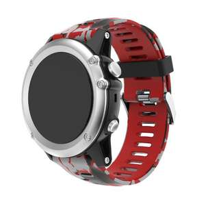 Strap Replacement Silicagel Soft Band Camouflag Garmin Fenix 5X 3