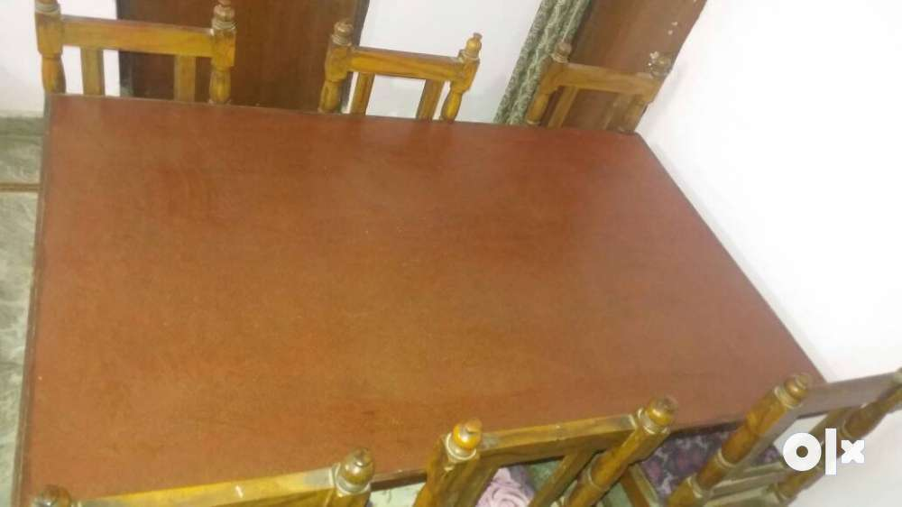 Dining table with 6 chairs in good condition Jaipur  : images1000x700inslot1filenamevrdgzwum3aop3 IN from www.olx.in size 1000 x 562 jpeg 29kB