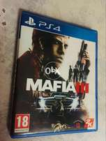 Ps4 Game MAFIA 3 In Good Condition with Map