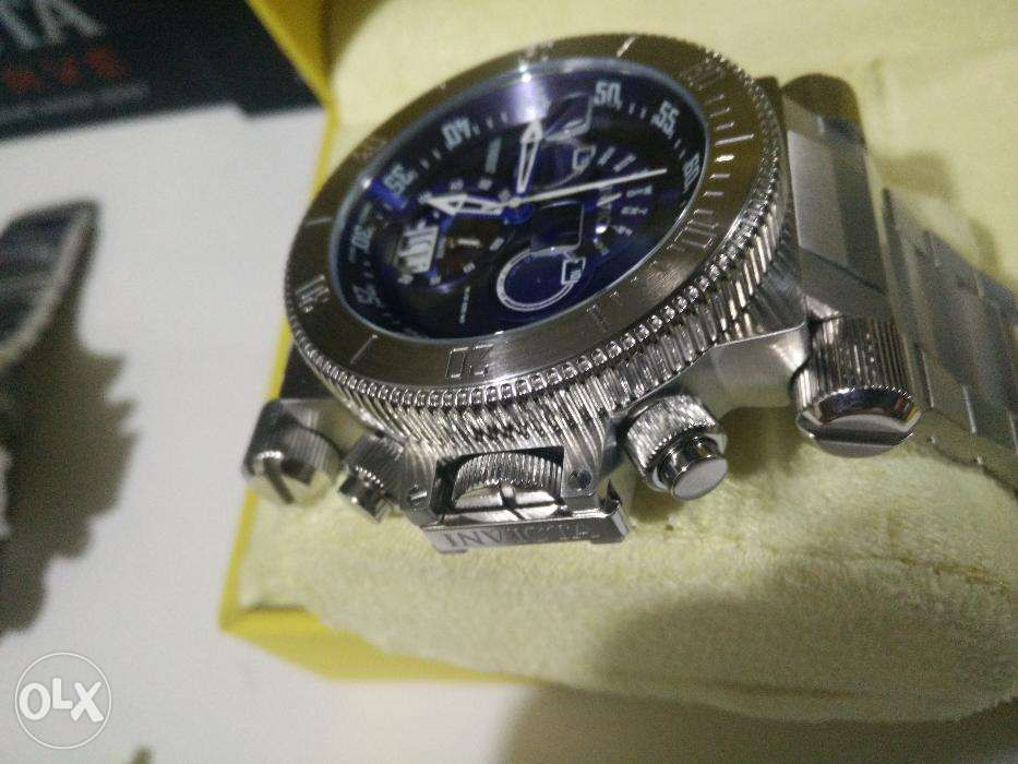 Invicta 17640 COALITION FORCES Swiss Made Chrono Retrograde SS Watch