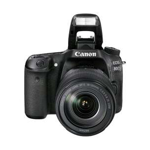 Canon EOS 80D Wi-Fi DSLR Camera with 18-55mm Bisa Kredit Tanpa CC