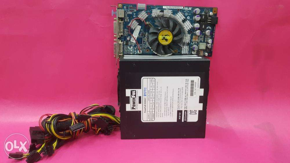 ASUS NVIDIA 7950GT Video Card And 600 Watts True Rated POWER SUPPLY