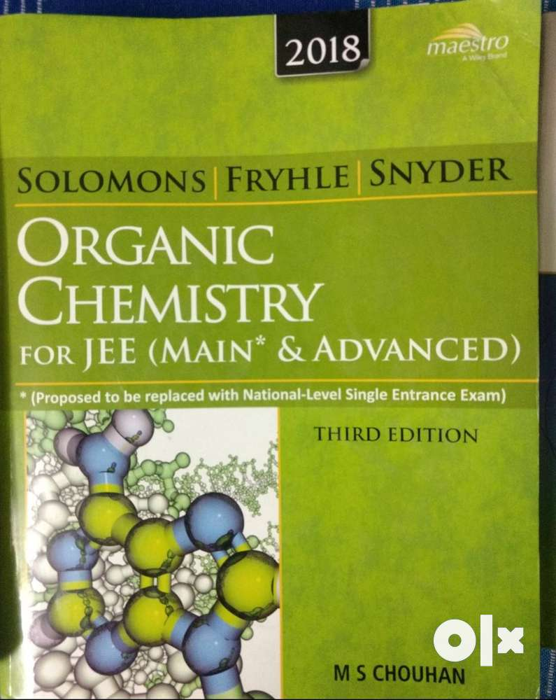 Solomon And Fryhle Organic Chemistry For Iit Jee Pdf