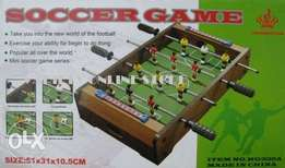 Football Game In Wooden