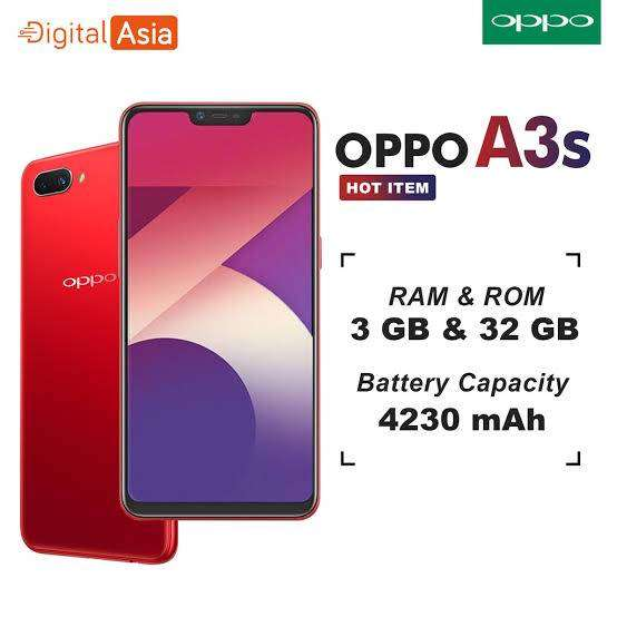 Oppo A3s 3/32 - Mobile Phones - 1003791116