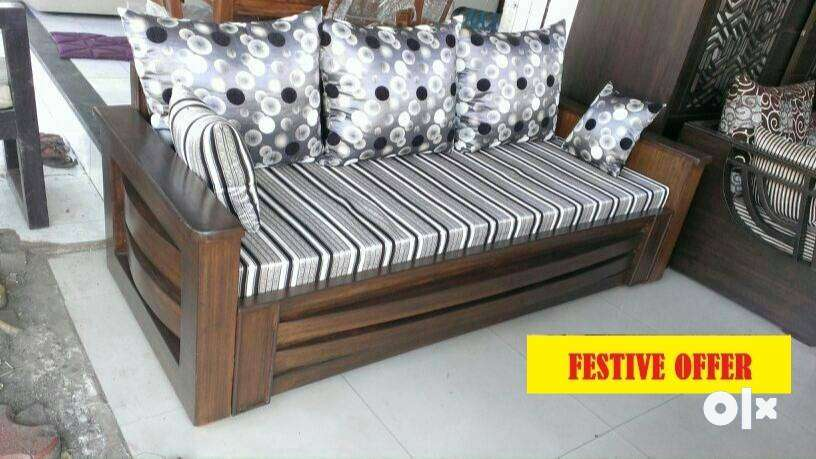 2 18 New Wooden Sofa Cum Bed Sofa Dining 1541004959