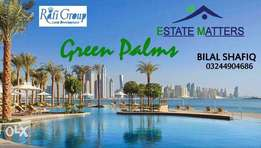Last time to book 5 Marla in Green Palms Gwadar under Rafi Group
