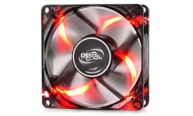 Fan Case 12Cm Deepcool Windblade Red