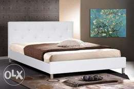 LALBAY upholstered Bed White. More colors available King size bed