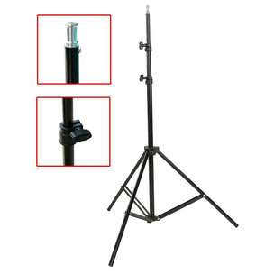 Weifeng portable light stand tripod video & camera - WF-8062A - Black
