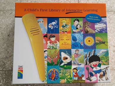 2 Set Buku A Child's First Library of Interactive Learning