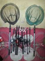 6 feet fishing rod and reel complete set with hucks line only rs 3450