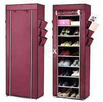 10 step shoe rack and wardrobe