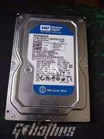 WD Blue 250GB System Pulled Hard Drive With New PC Games For Sell