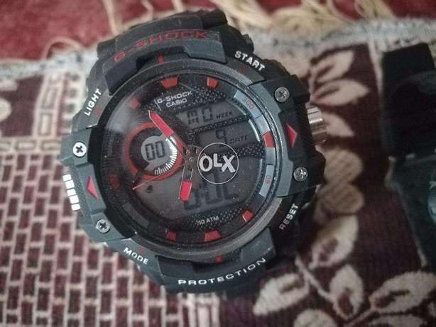 Casio G-Shock Genuine Dual Time high quality Color Changing Watch