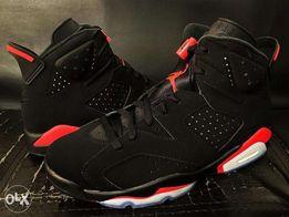 new product 76972 35675 Air Jordan 6 Black Infrared