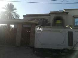 New banglaw in Kazmi town, avail for office n multinational companied