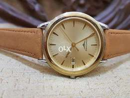 Original Longines Gold Plated Quartz