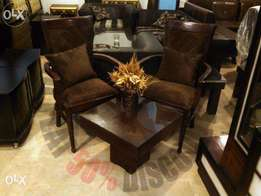 Chair set | New beautiful bedroom chairs | sheesham made | velvet