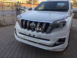Toyota prado n V8 bodykit and full uplift available with new lights 16
