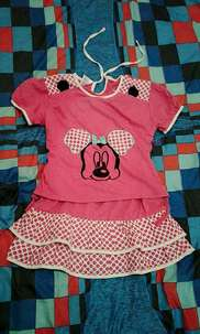 dress anak branded size 2-4 th like new