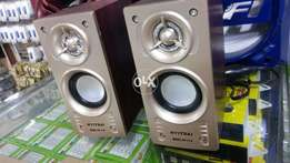 New wooden quality Speakers usb power