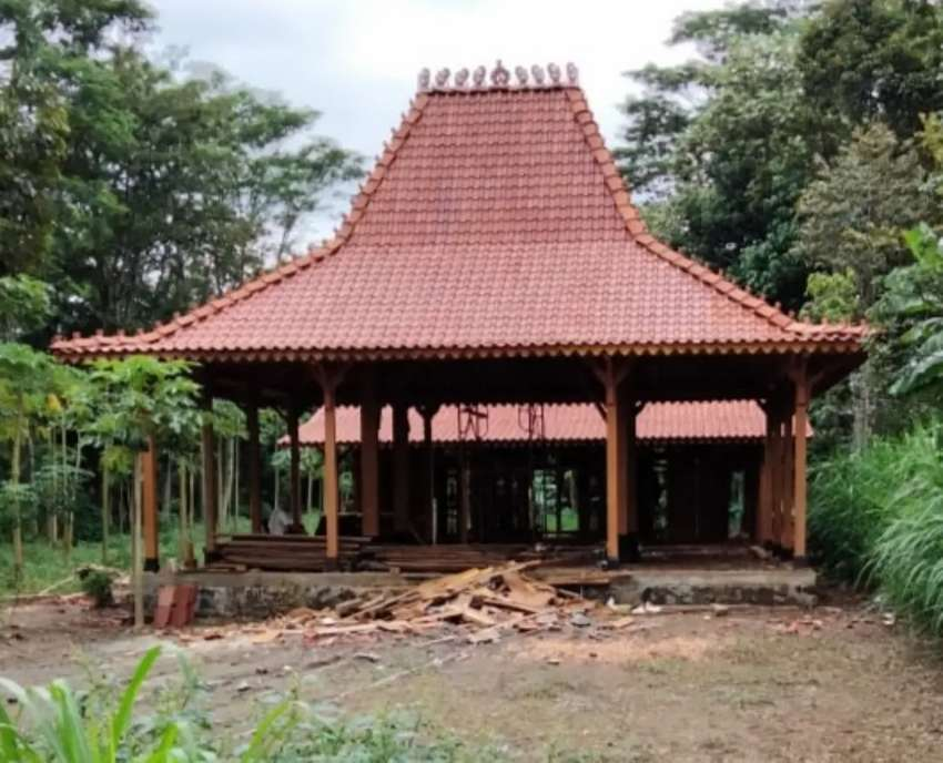 Jasa Bangun Rumah Limasan Jati Khas Jawa di Palembang, Sumatera Selatan