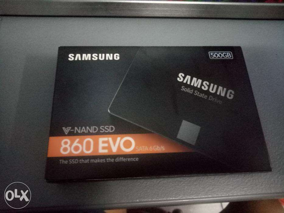 Samsung Evo 860 Ssd 500gb Sata Brand New And Kingston 4gb Ddr4