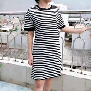 Dress O-Stripe