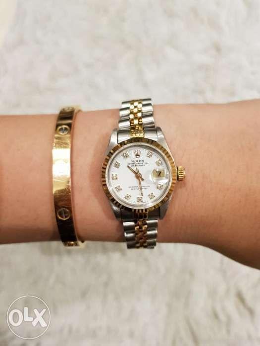 12b6313ee7d Rolex Datejust Ladies two tone with Diamonds Ladies Watch in Quezon ...