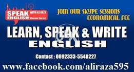 English Language course for all the qualification and age level