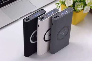 Powerbank Charger 10000MAH Power Bank IPHONE X S7 S8 S9 NOTE8 Wireless