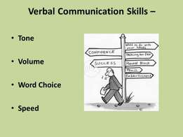 There are seven main categories of verbal communication that we tend t