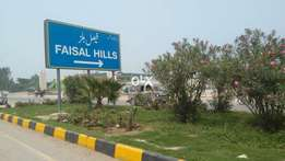 Faisal Hills OLD PLOTS available on easy Installments
