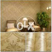 Luxurious collection for PVC Wallpaper , Vinyl Wooden flooring
