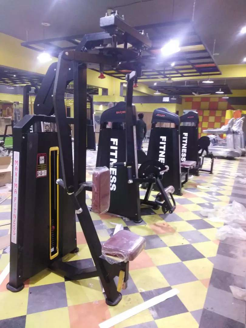 Gym equipments Gym Machines cross fit multi stations four station - Gym &  Fitness - 1002746267